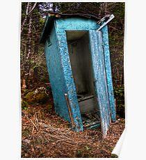Deep Woods Pitstop Poster