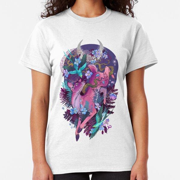 Mystic Midnight Pink White Tail Doe Classic T-Shirt