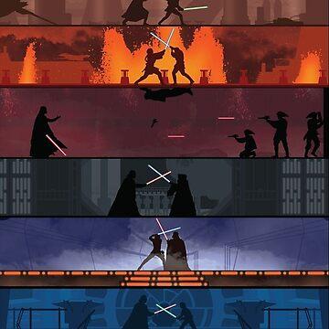 Star Wars Duels by maxrhys