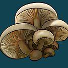 Mushroom family by microcosmicshop