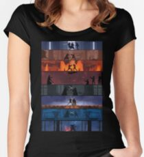 Star Wars Duels Women's Fitted Scoop T-Shirt