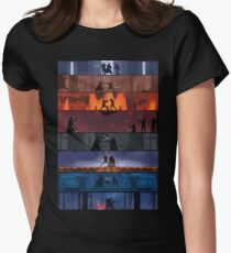Star Wars Duels Women's Fitted T-Shirt