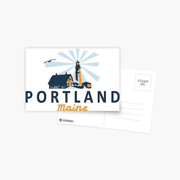 Portland Maine.  Postcard