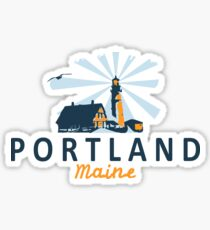 Portland Maine.  Sticker
