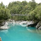 Walkover at the Hokitika Gorge by Larry Lingard-Davis
