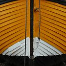 Yellow fishing boat by Tony Hadfield