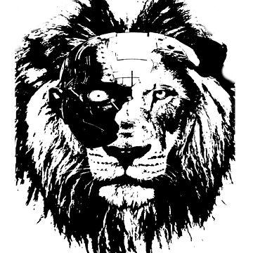 LionCyborg by happykenz