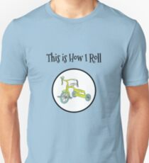 This is How I Roll Tricycle Bike Tshirt for Kids T-Shirt