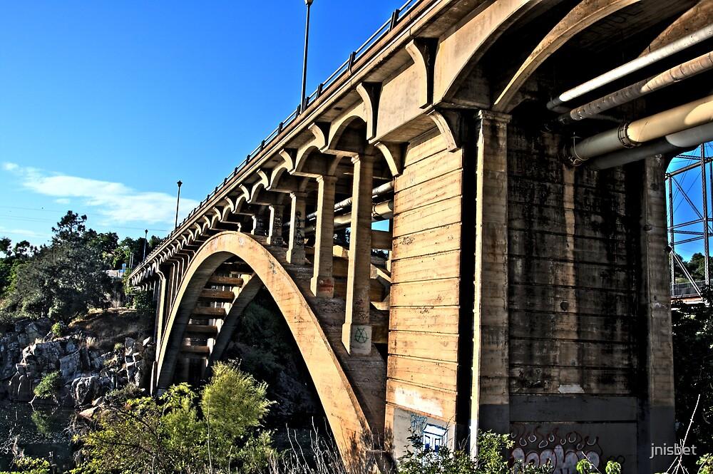 Folsom Bridge by jnisbet