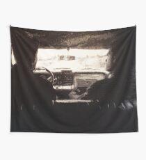 Supernatural: Black & White Backseat Wall Tapestry