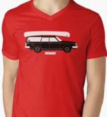 ROAM Volvo Granola Wagon with Canoe T-Shirt