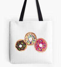 Neapolitan Donuts Tote Bag