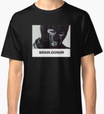 BRAIN DONOR CRYING MASK BOX LOGO TEE Classic T-Shirt