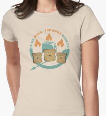 The Toast On Fire T-Shirt