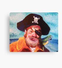 Spongebob Squarepants Pirate Canvas Print