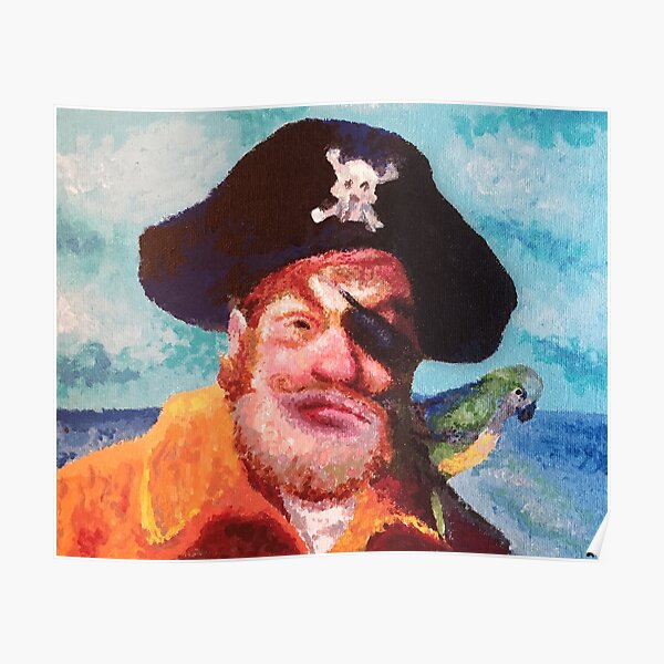 Spongebob Squarepants Pirate Poster