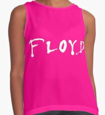 FLOYD - White on Pink Contrast Tank