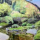 Zen Garden Composition- 2nd panel by Christopher Ripley