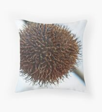 Prickly Balls Throw Pillow