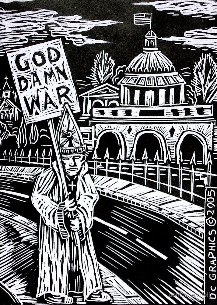 The Pope Protests! by daniel cautrell