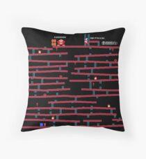 Donkey Kong [NES] remake Throw Pillow