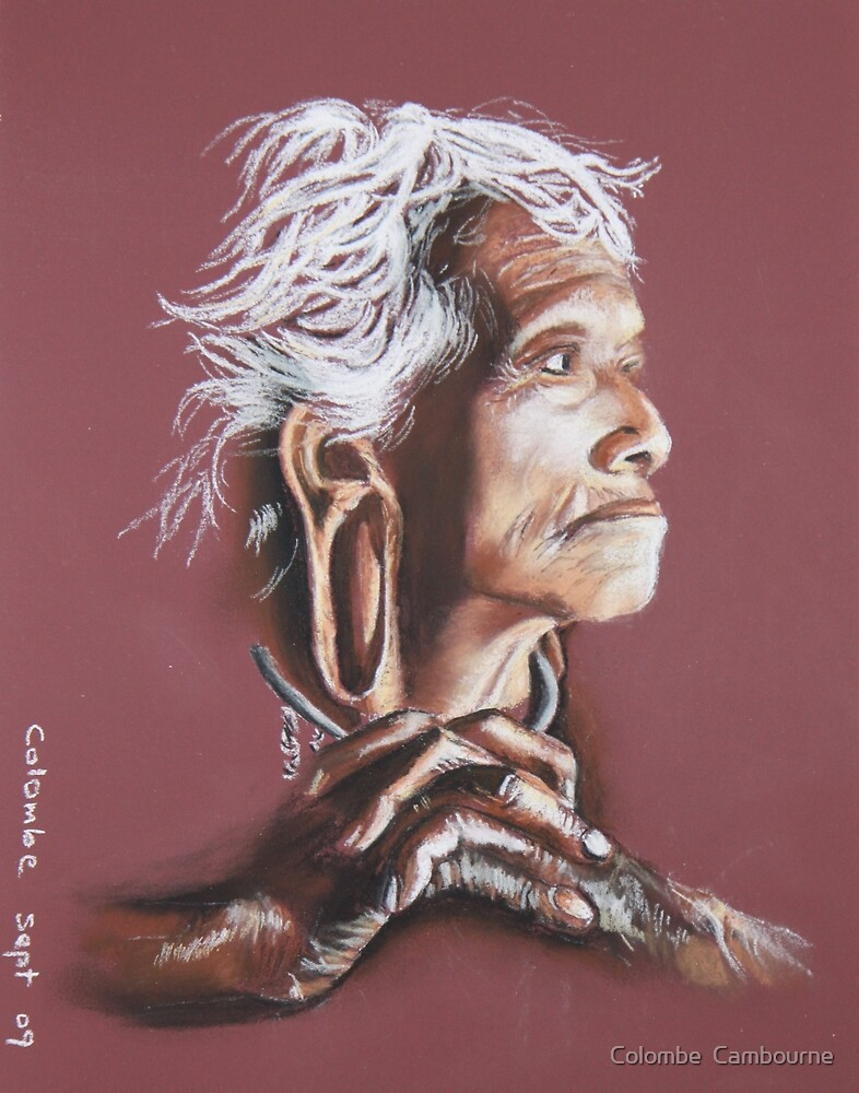 K'hor woman by Colombe  Cambourne