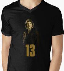 Who is 13 Men's V-Neck T-Shirt