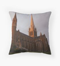 Bendigo Sacred Heart Cathedral Throw Pillow