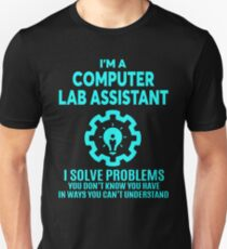 COMPUTER LAB ASSISTANT - NICE DESIGN 2017 T-Shirt