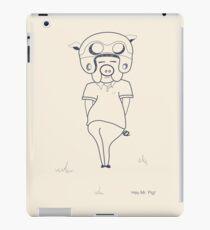 Hey Mr Pig! iPad Case/Skin