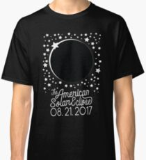Solar Eclipse 2017 Shirt - The American Total Solar Eclipse Starfield - August 21, 2017 Classic T-Shirt