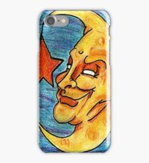 Sarcastic Moon  iPhone Case/Skin