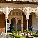 Northern pavillion of Generalife by Mark Prior