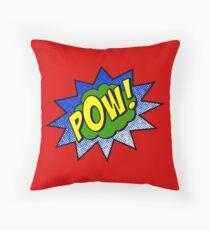 Pow Throw Pillow