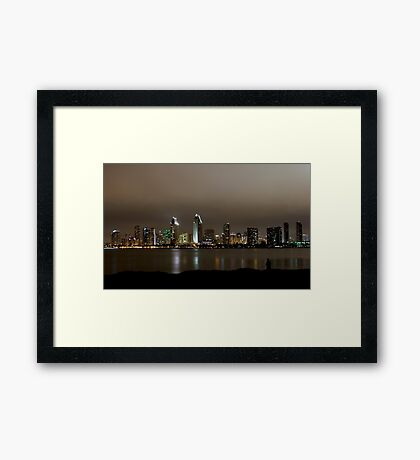 Fishing With a View Framed Print