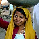 indian woman by melanie tschiderer
