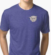 Mr Pig Tri-blend T-Shirt