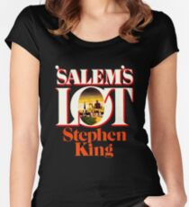 Salem's Lot - King First Edition Series Women's Fitted Scoop T-Shirt