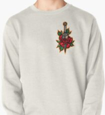 Naruto Konoha Kunai Through Rose Pullover