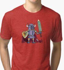 Bull Knight Tri-blend T-Shirt