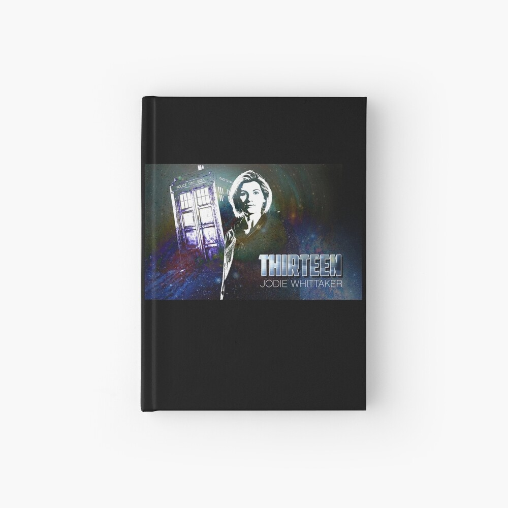 13. Doktor - Jodie Whittaker Notizbuch