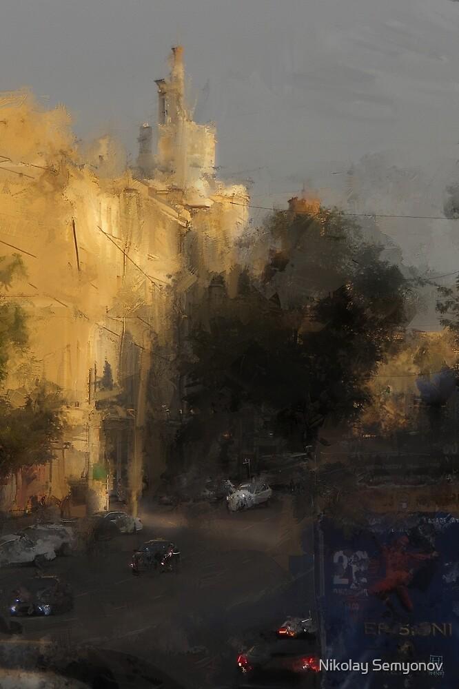 before the curtain falls by Nikolay Semyonov