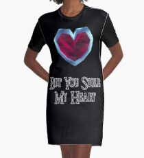 You Stole My Heart (Couple's Zelda Themed Items - Piece 2) Graphic T-Shirt Dress