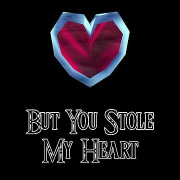 You Stole My Heart (Couple's Zelda Themed Items - Piece 2) by Peter082790