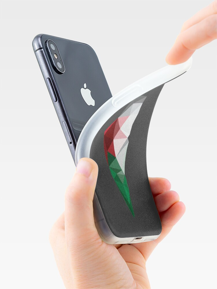 Alternate view of Palestine Poly iPhone Case & Cover