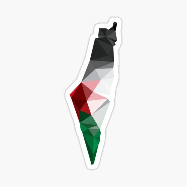 Palestine Poly Sticker