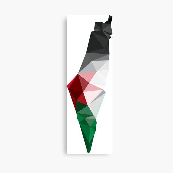 Palestine Poly Canvas Print