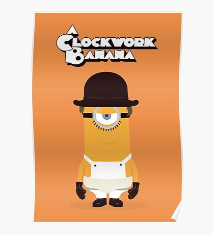 A Clockwork Banana Poster