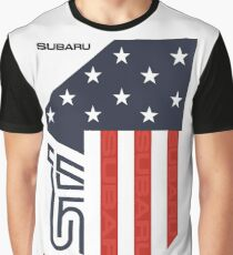 STI Flag USA Graphic T-Shirt