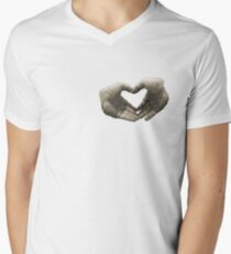 With love... (T-Shirt) Men's V-Neck T-Shirt